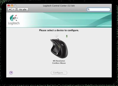 Logitech Control Center 3.9.1.20