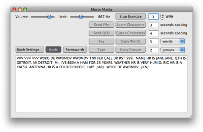 Morse Mania X 4.0.1