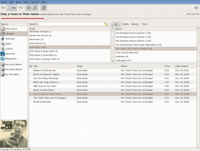 Rhythmbox 3.2