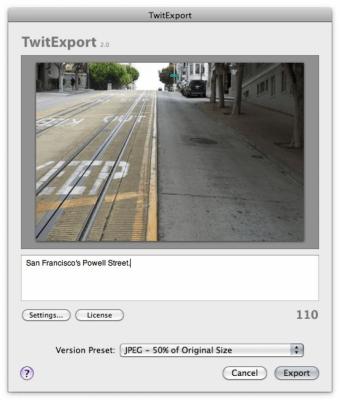 TwitExport 2.0.4