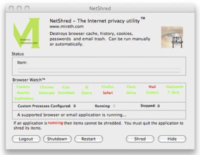 NetShred X 4.8.0