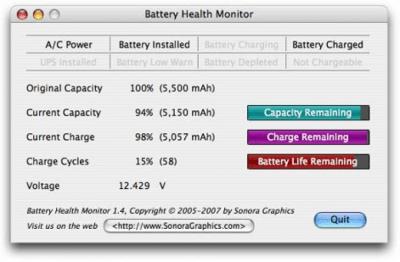Battery Health Monitor 1.5