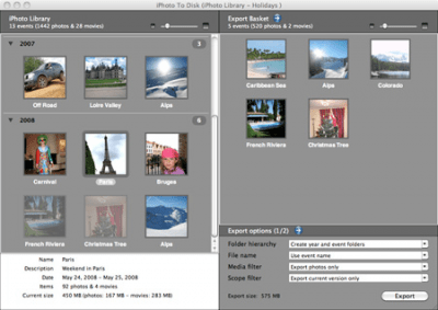 iPhoto to Disk 5.1
