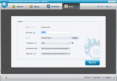 Wondershare DVD Creator 5.0.1