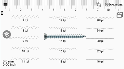 Измеритель шага резьбы 1.3.9