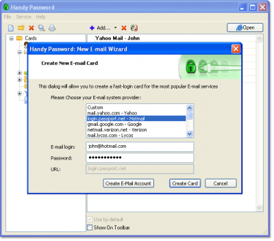 Handy Password USB Edition 4.9