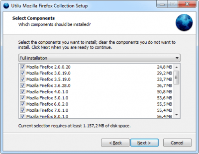 Mozilla Firefox Collection 1.1.8.7