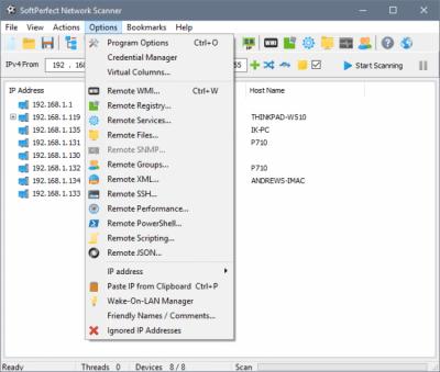 SoftPerfect Network Scanner 7.1.7