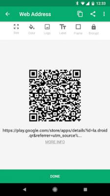 QR Droid Code Scanner 7.0.5