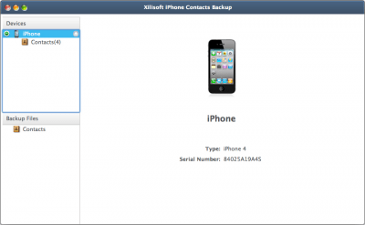 Xilisoft iPhone Contacts Backup 1.0.0