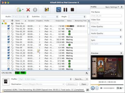 Xilisoft DVD to iPad Converter 7.3.0