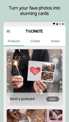 Touchnote - Мобильные открытки 6.8.2