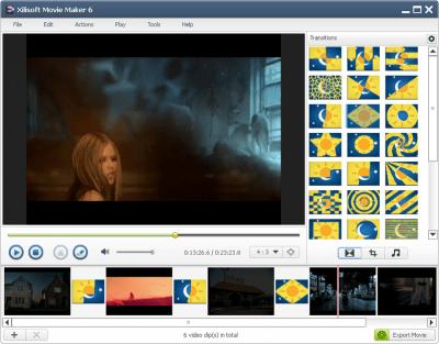 Xilisoft Movie Maker 6.6.0