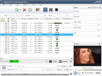 Xilisoft DVD to MP4 Converter 7.7.3