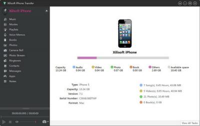 Xilisoft iPhone Transfer 5.6.4