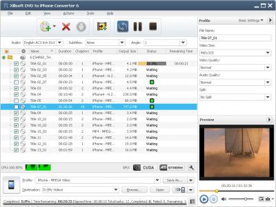Xilisoft DVD to iPhone Converter 7.8.4