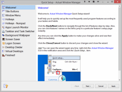 Actual Window Manager 8.11.3