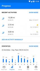 Runtastic - Бег и фитнес трекер 8.9.2