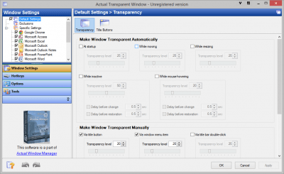 Actual Transparent Window 8.12.2