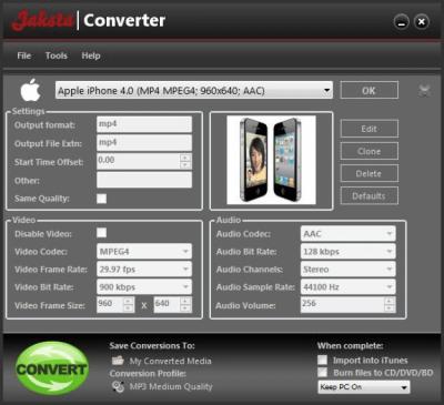 Jaksta Converter 7.0.0.46
