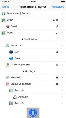 TeamSpeak 3 3.2.0