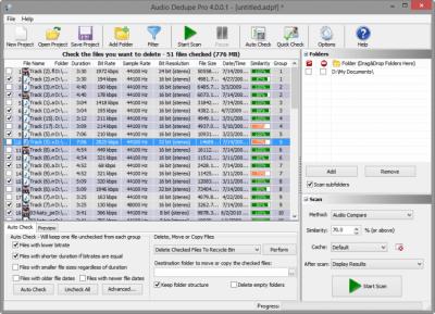 Audio Dedupe 4.0.0.1