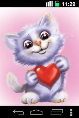 Funny Cute Cat Live Wallpaper 1.1.9