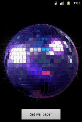 Disco Ball Live Wallpaper 1.0
