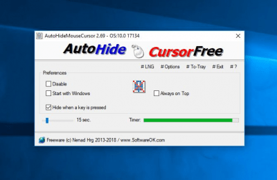 AutoHideMouseCursor 2.36