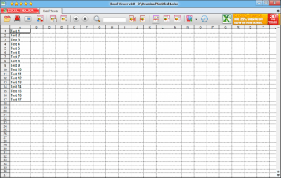 Excel Viewer 2.0