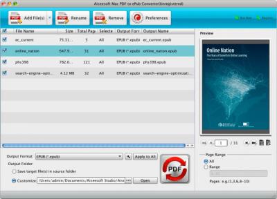 Aiseesoft PDF to ePub Converter 3.1.6