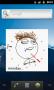 Скачать Troll face clock widget