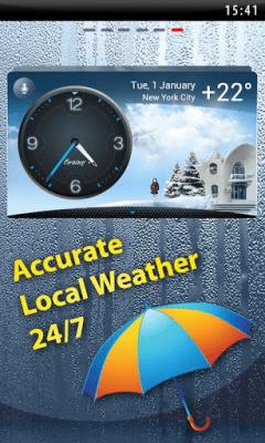 Погода на экране, Виджет, Часы 1.3.64