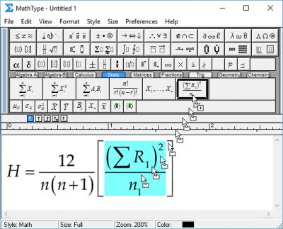 MathType 7.3.1 Build 438