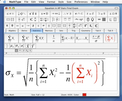 MathType 7.3.1