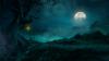 Скачать Заставка (скринсейвер) ночные окрестности Тристрама (Diablo3)