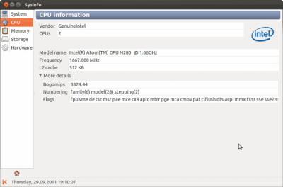 Sysinfo 0.7
