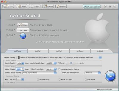 WinX iPhone Ripper 4.0.7