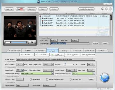 WinX HD Video Converter Deluxe 5.12.1