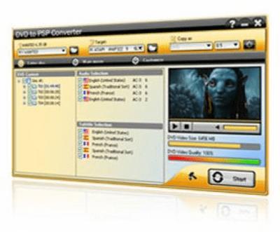 DVD to PSP Converter 3.0.0