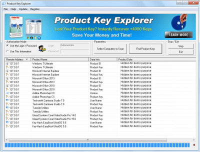Product Key Explorer 4.0.7
