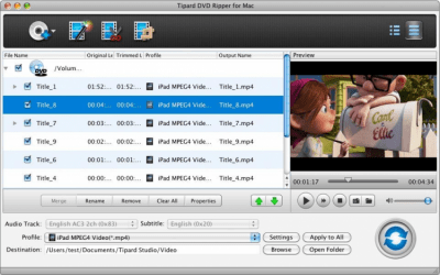 DVD Ripper for Mac 3.6.30