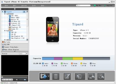 iPhone 4S Transfer Platinum 6.1.10