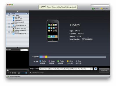 iPhone to Mac Transfer Standard 6.1.6