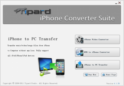 Tipard iPhone Converter Suite 6.1.58