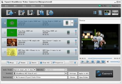 Tipard BlackBerry Video Converter 6.1.50