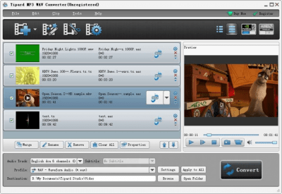 Tipard MP3 WAV Converter 6.1.50