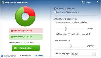 Wise Memory Optimizer 3.6.2