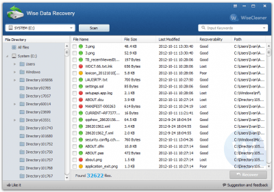 Wise Data Recovery 4.1.1