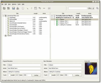 MusicBrainz Picard 1.4.1